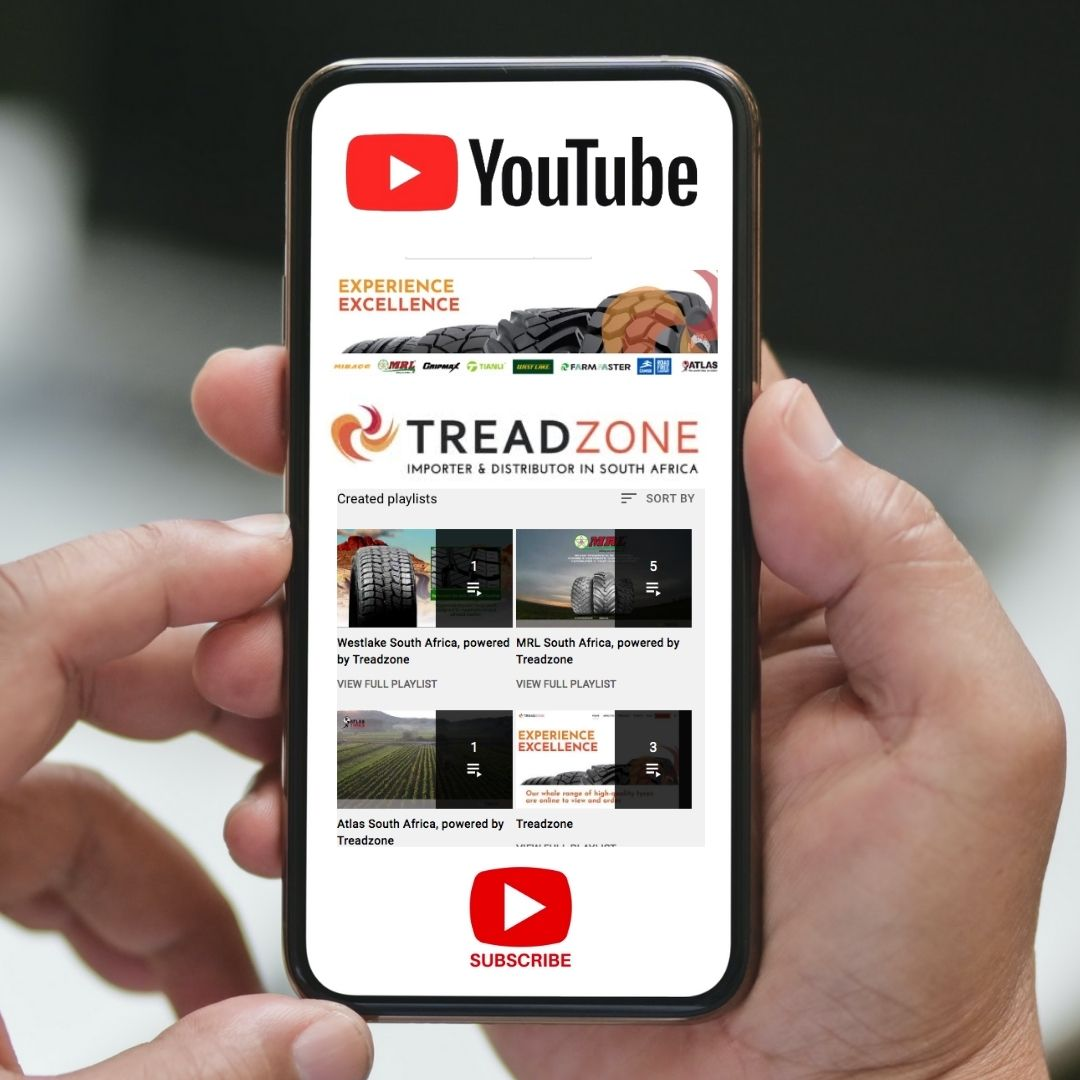 Track the Treadzone brands on our NEW YouTube channel!
